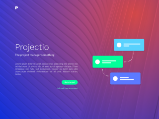 Project management UI