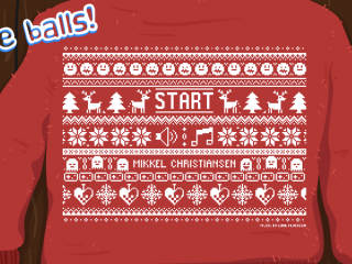 Christmas Pinball - one week web game